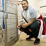 Cleveland Browns Player Donates to Animal Shelter