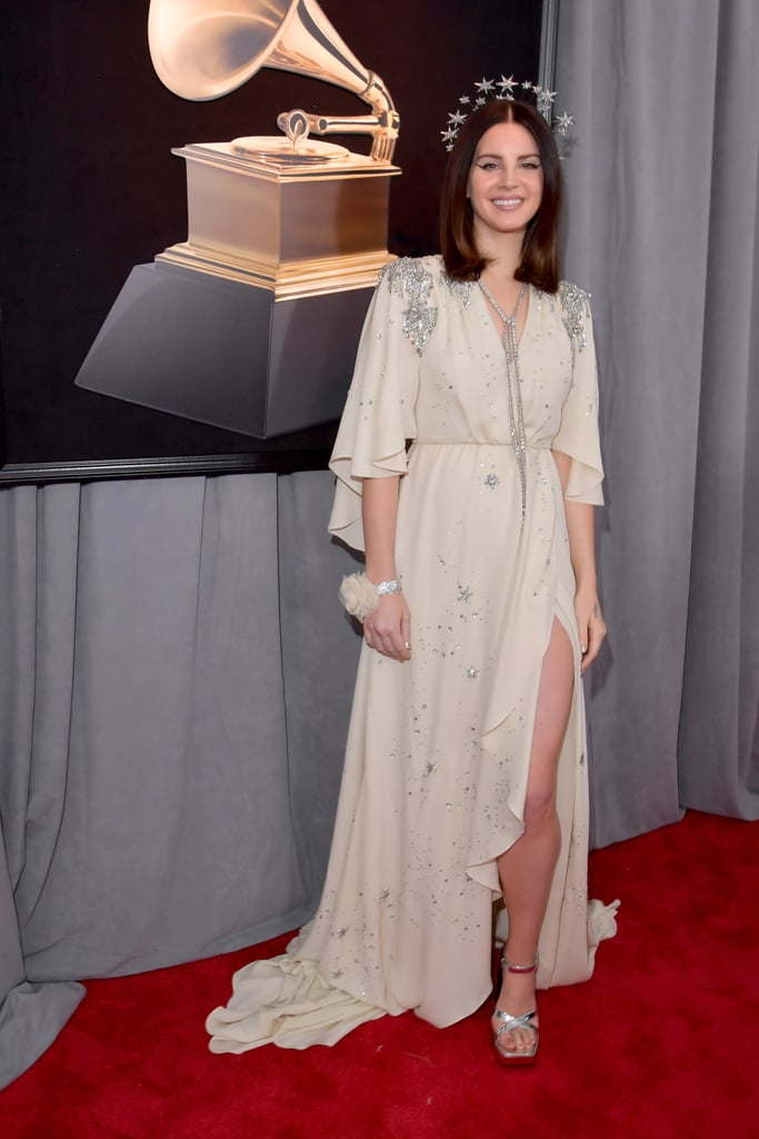 Lana Del Rey Grammy Awards Red Carpet Dresses 2018