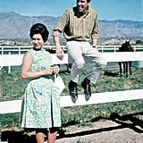 Princess Margaret and Lord Snowdon Visit a Ranch in Tucson, AZ