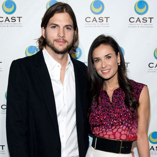 Ashton Kutcher and Demi Moore Red Carpet Pictures
