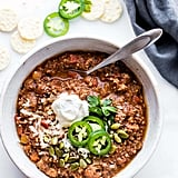 Sweet Potato Mole Turkey Chili