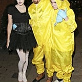 In 2014, Guy Ritchie and Rocco Ritchie dressed up characters from Breaking Bad and Jacqui Ainsley stunned as the Black Swan.