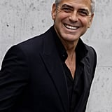 George Clooney at the Spring 2011 Giorgio Armani Runway Show