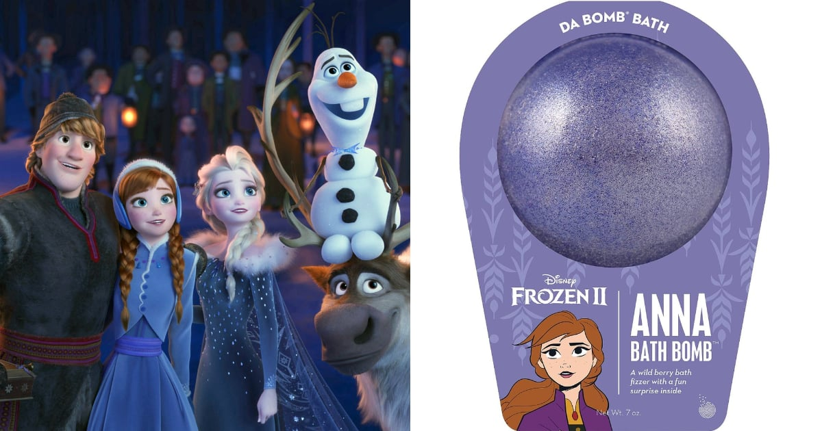 These Sparkly Frozen Bath Bombs Will Bring Disney Magic to Your Child's Bath Time