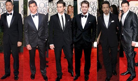 Men Red Carpet Golden Globes 2010 Photos