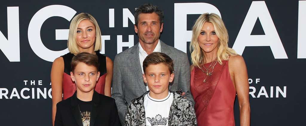 Patrick Dempsey Family at Racing in the Rain Premiere Photos
