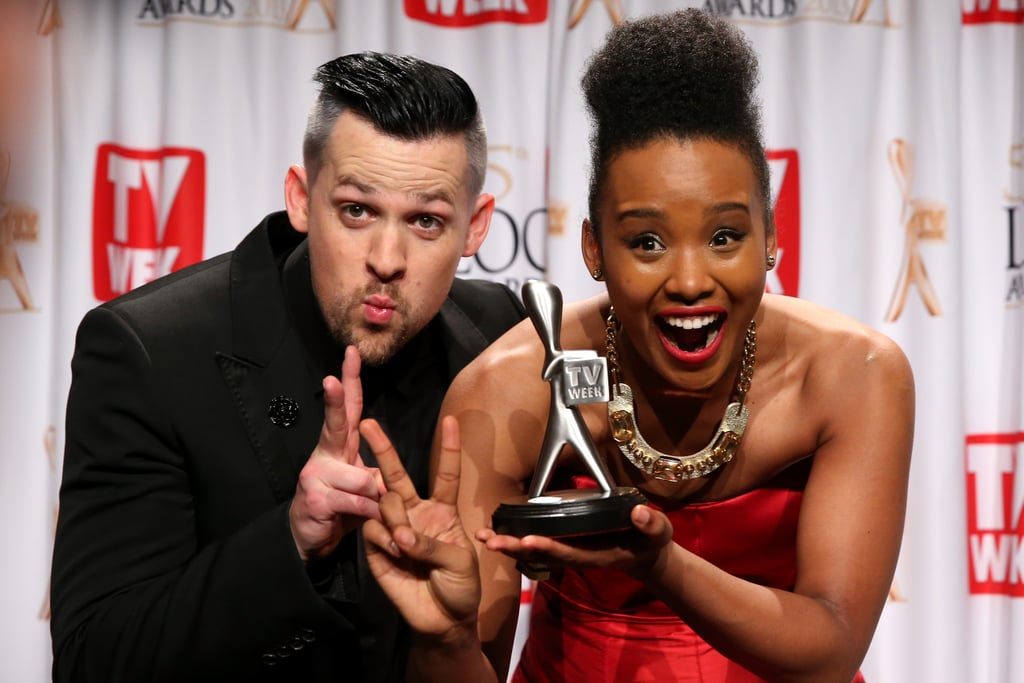 2013: Joel Madden and Faustina Agolley