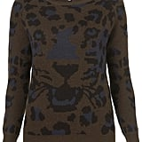 Throw this sweater on with a pair of jeans for a chic weekend look. Topshop Petite Animal Face Jumper ($84)