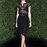 Rosie Huntington-Whiteley at Chanel's Pre-Oscars Dinner