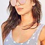 Urban Outfitters Super Slim Round Sunglasses