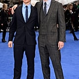 "James McAvoy = 5'7"", Michael Fassbender = 6'0"""