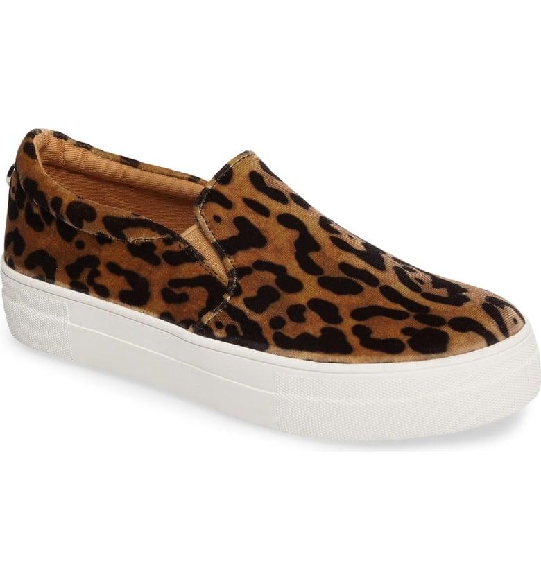 ded1f58b390 Steve Madden Gills Platform Slip-On Sneaker | Best Leopard-Print ...