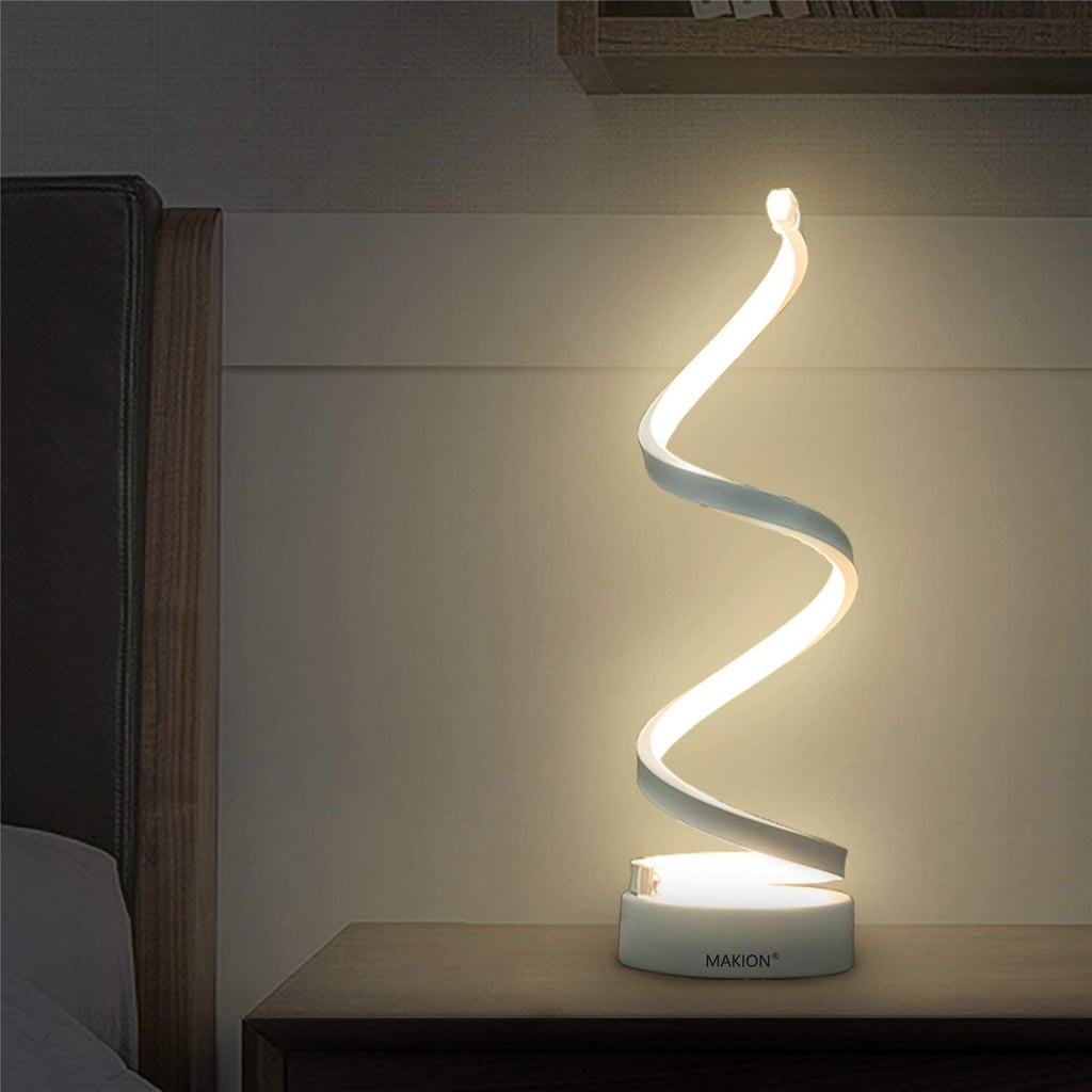 Makion Spiral LED Table Lamp | Best Table Lamps on Amazon ...
