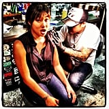 Jenna Ushkowitz got inked. Source: Instagram user jennaushkowitz