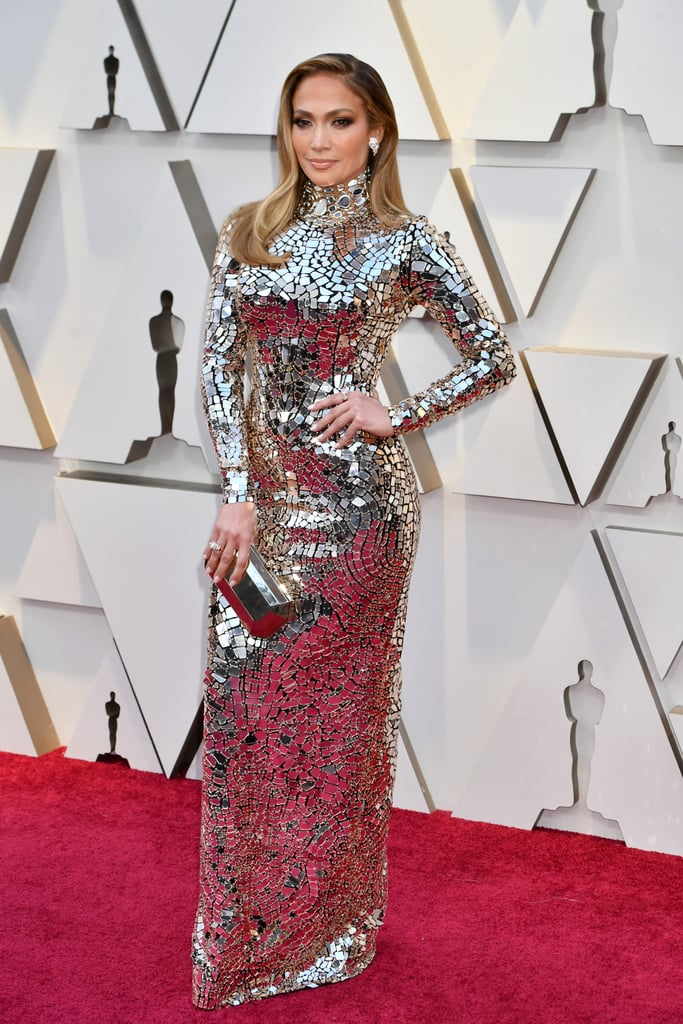 Jennifer Lopez Wearing Tom Ford to the 2019 Academy Awards