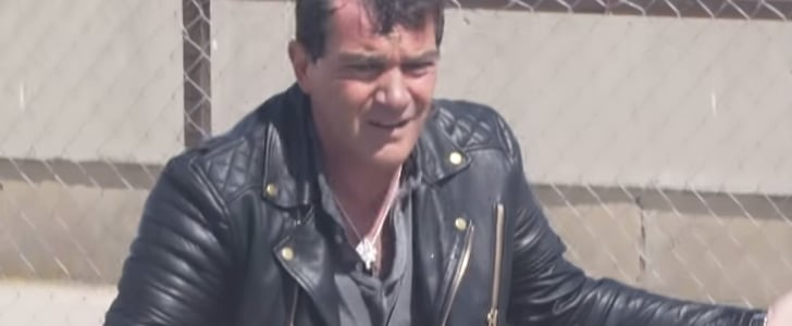 Egyptian TV Star Ramez Galal Pranks Antonio Banderas