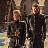 Lena Headey as Cersei and Nikolaj Coster-Waldau as Jaime