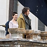 Anne Hathaway Les Miserables Pictures With Hugh Jackman