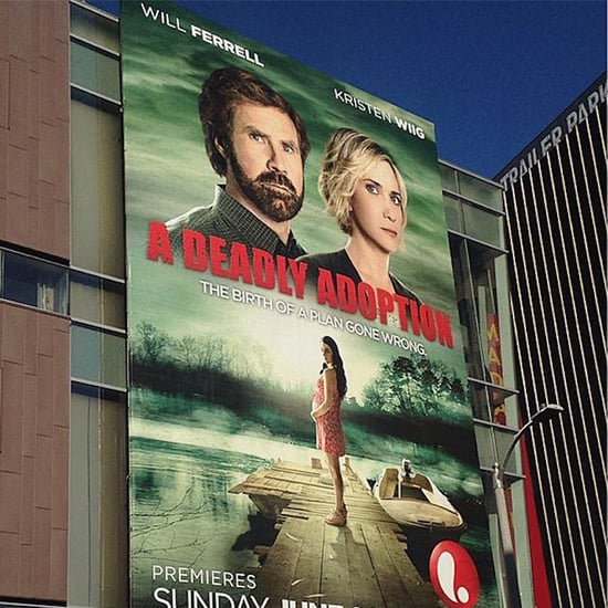 A Deadly Adoption Poster With Will Ferrell and Kristen Wiig