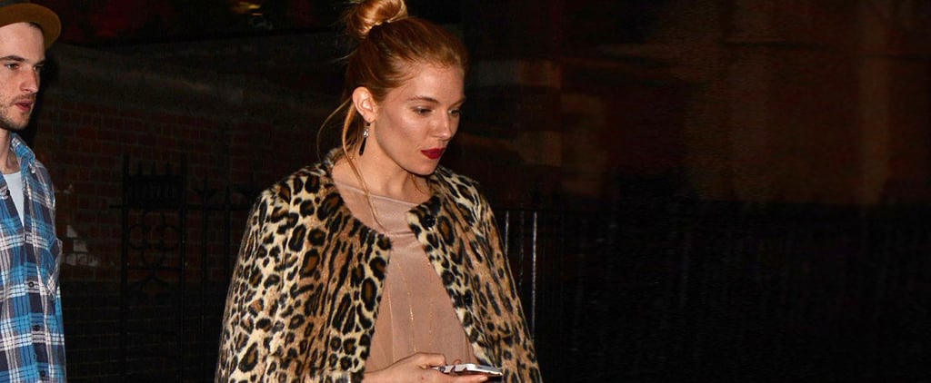 The Label of Sienna Miller's Coat Will Shock You!