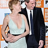 Michelle Williams and Eddie Redmayne had a case of the giggles at the New York Film Festival premiere of My Week With Marilyn.