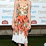 Elizabeth Banks posed at the Maui Film Festival.