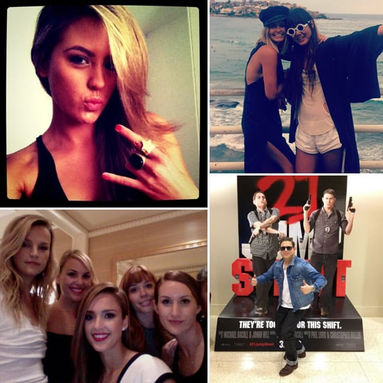 Fun and Funny Celebrity Twitter Pictures From Jesinta Campbell, Lara Bingle, Jessica Alba, Jonah Hill and More