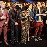 Demi Lovato and Wilmer Valderrama Dancing Like Nobody's Watching