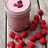 Raspberry Vanilla Protein Smoothie