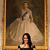 October: Meghan makes a powerful speech about women's suffrage in New Zealand.