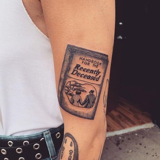 Beetlejuice Tattoo Ideas and Inspiration
