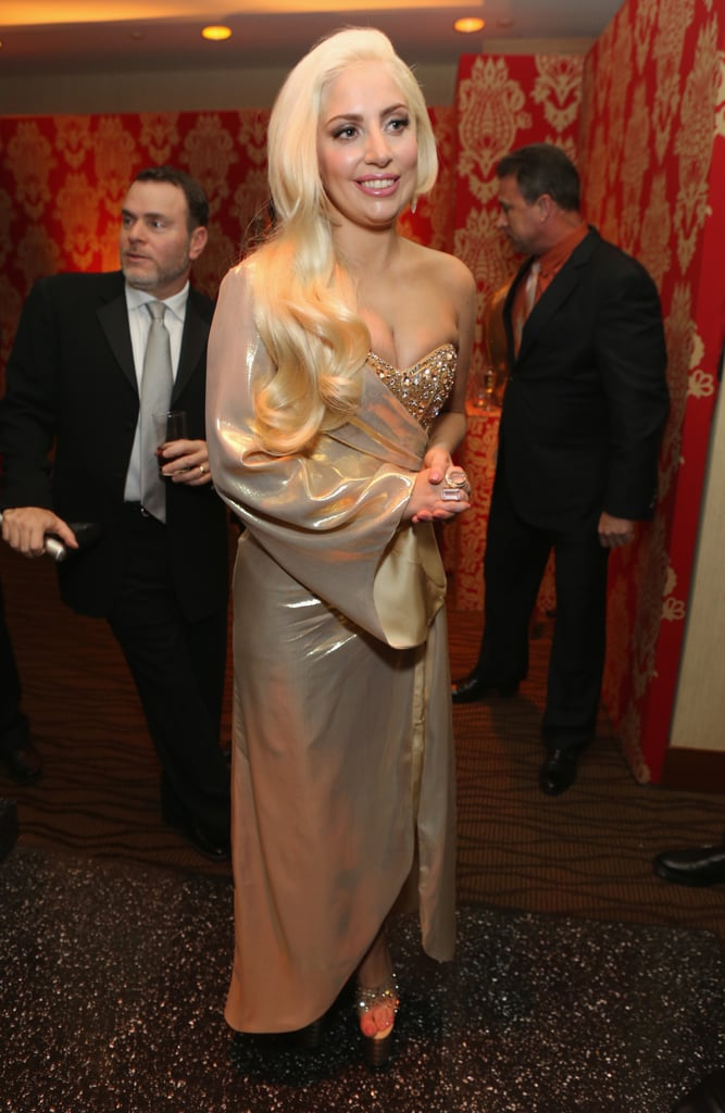 Lady Gaga at HBO's Golden Globes Afterparty
