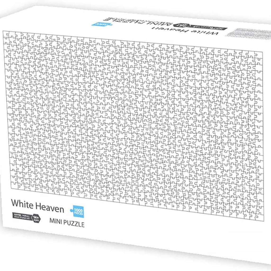 Order This All-White Puzzle From Amazon