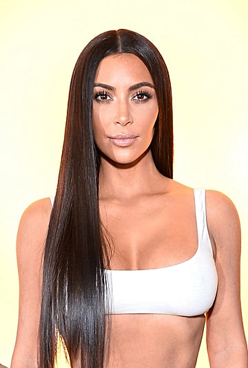 Kim Kardashian No-Makeup Makeup Photos