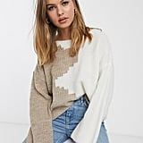 Vila Two Tone Sweater