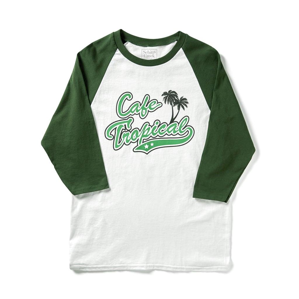 Cafe Tropical Baseball T-Shirt