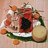 House-smoked salmon