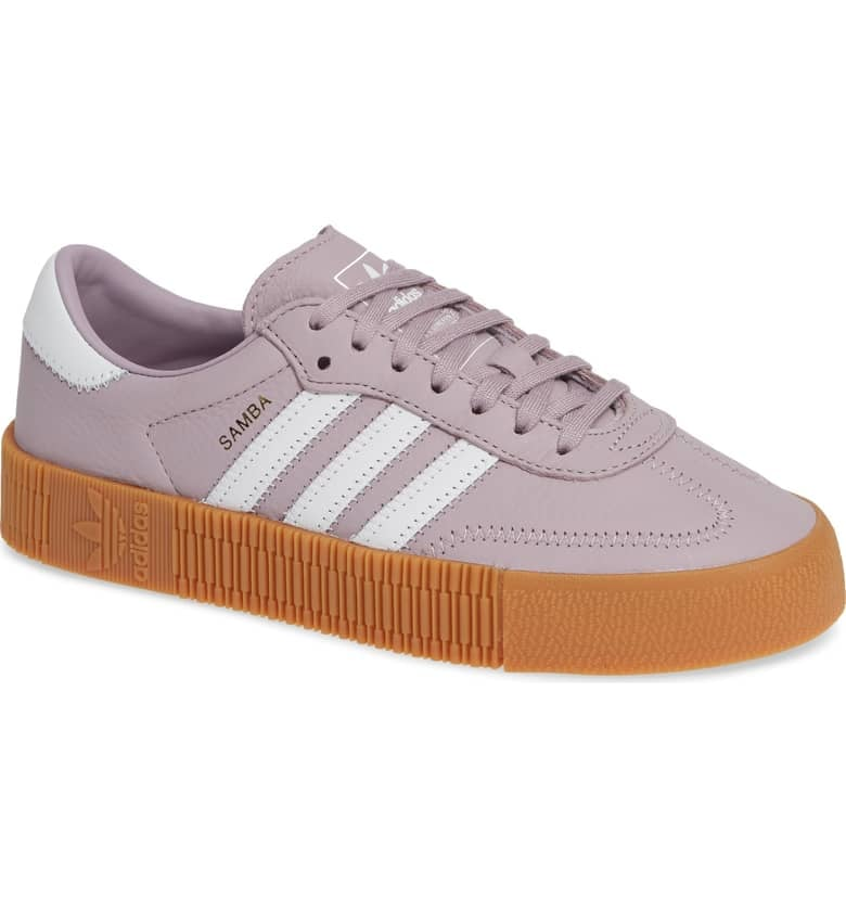 d15c31744af Adidas Samba Rose Sneakers in Millennial Pink