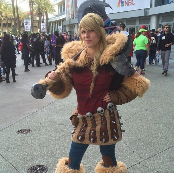 This how to train your dragon cosplayer got astrid spot on best this how to train your dragon cosplayer got astrid spot on ccuart Gallery