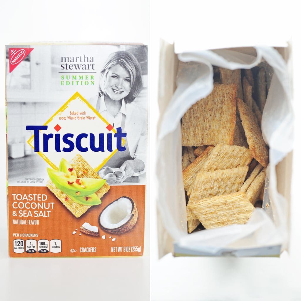 Triscuit Toasted Coconut and Sea Salt