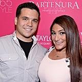 Deena Cortese and Chris Buckner