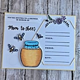Mom-to-Be Bumblebee Baby Shower Invitation