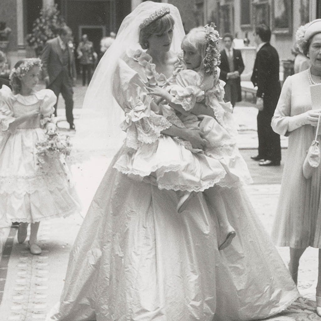 These Unseen Photos of Princess Diana's Wedding Dress Are Straight Out of a Fairy Tale