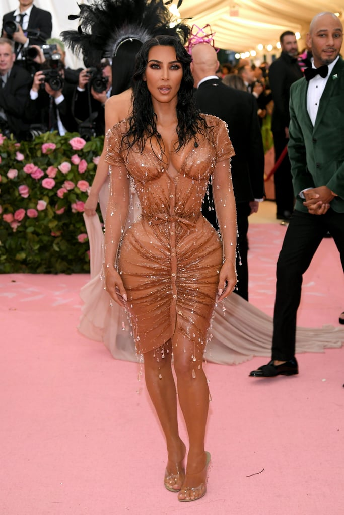 kim kardashian dress at the 2019 met gala  popsugar