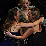 With Brie Larson and Cate Blanchett