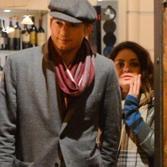 Mila Kunis and Ashton Kutcher in Rome | Pictures