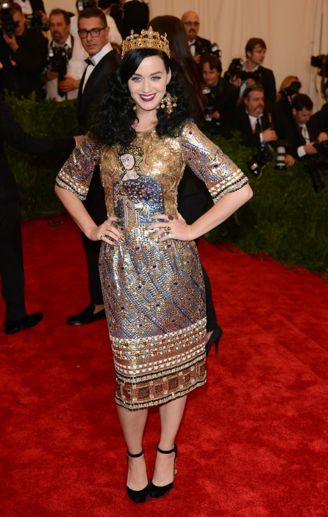 Katy Perry's 2013 Met Gala Outfit Featured Religious Iconography