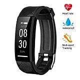 Instecho Fitness Tracker, Custom Activity Tracker Heart Rate Monitor