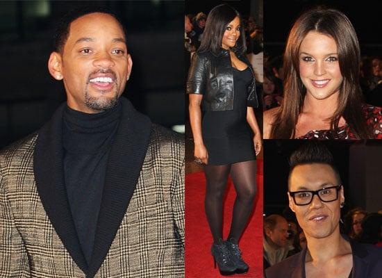 Photos Of UK Premiere Of Seven Pounds With Will Smith, Danielle Lloyd, Gok Wan, Roxanne Pallett, Keisha Buchanan etc