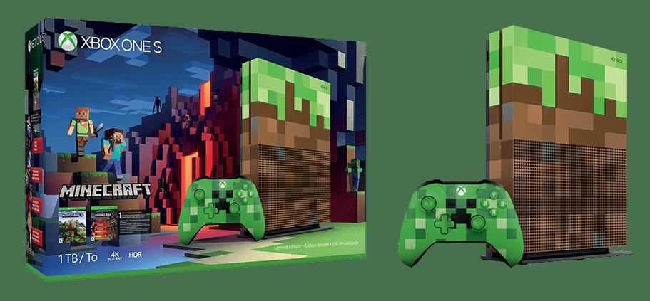 Xbox Mine Craft Console
